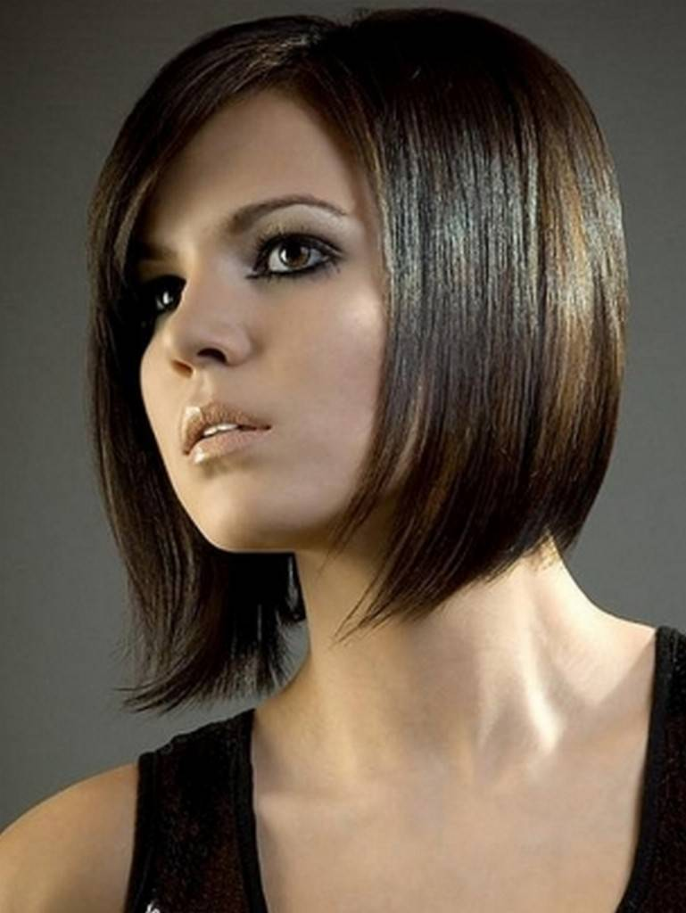Stylish and Cool bob hairstyle for girls foto