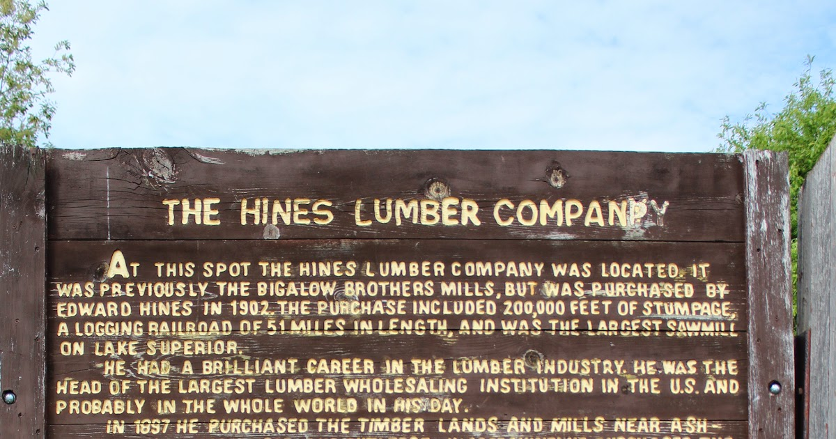 U S Plywood Corporation Locations ~ Wisconsin historical markers the hines lumber company