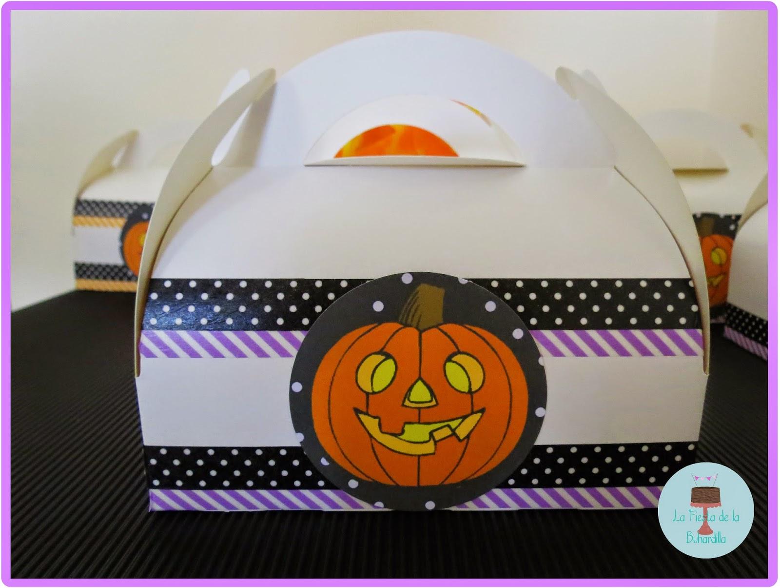 caja picnic halloween