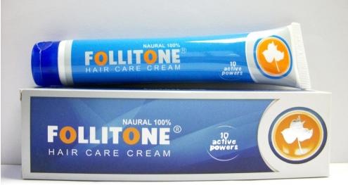 follitone فوليتون كريم لعلاج الثعلبة وتساقط الشعر