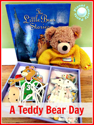 Preschool resources and activities for a teddy bear theme