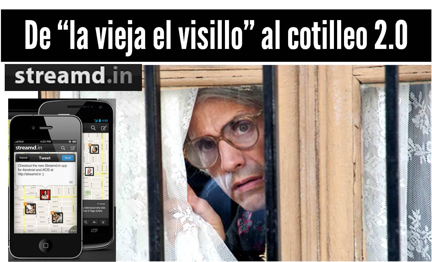 StreamdIn Geolocaliza los tweets de tus vecinos Esmeralda Diaz Aroca