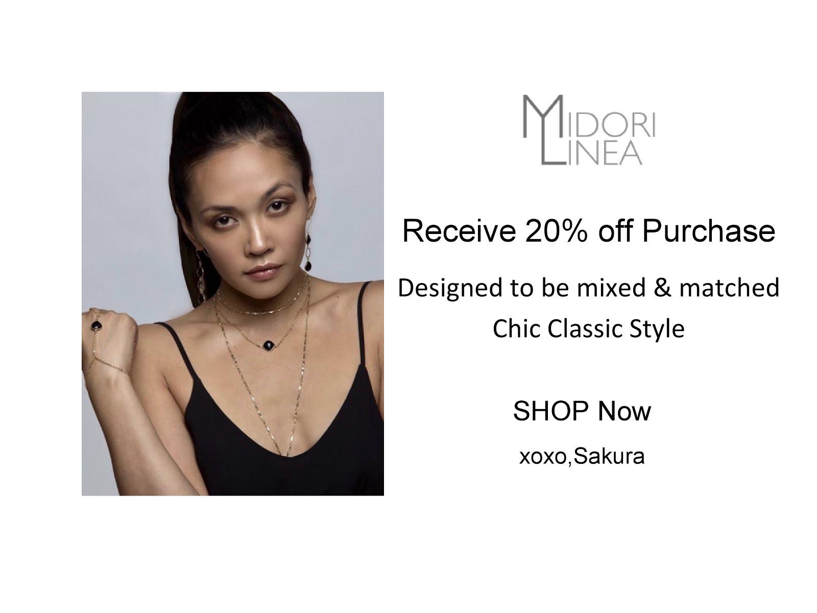 Midori Linea Jewelry