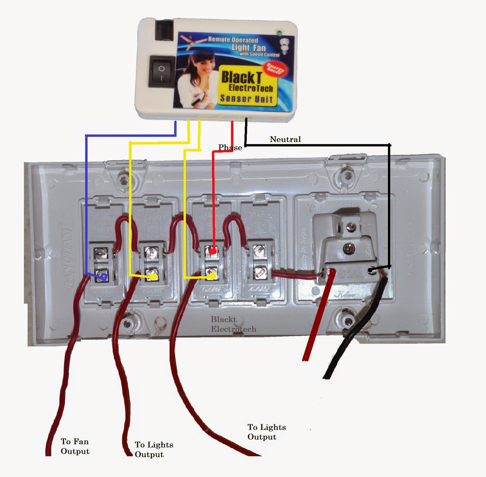 How To Wire A Switch Board - Wiring Diagrams •