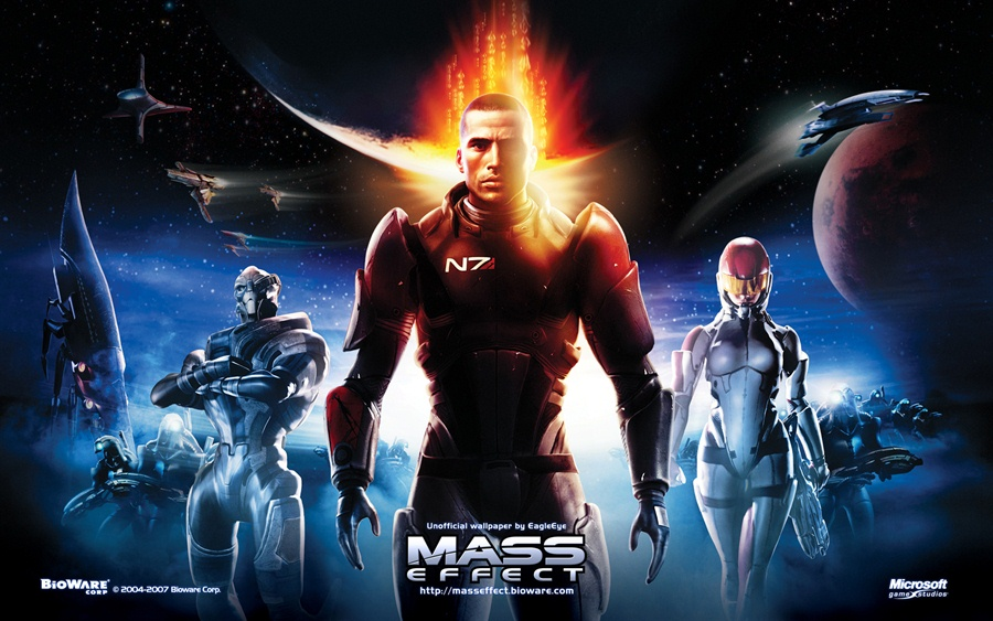 Mass Effect 1 Download PC Poster