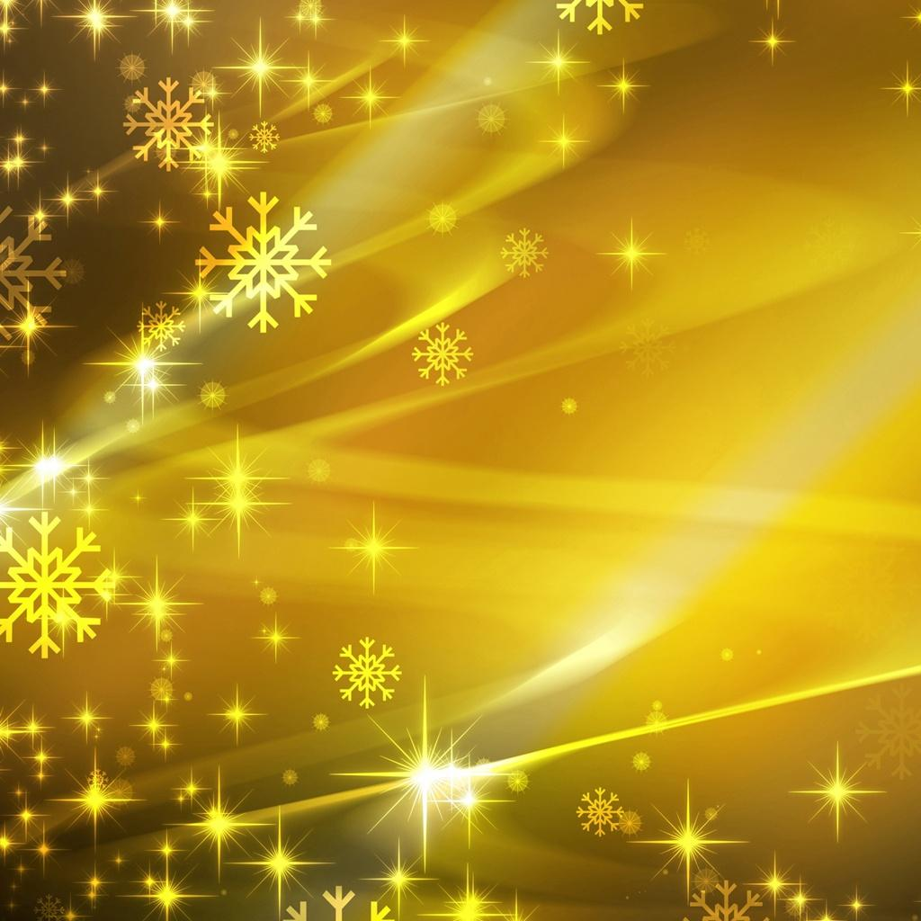gold christmas snowflake wallpaper - photo #16