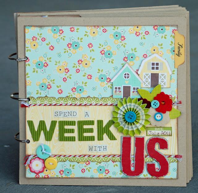 Becki Adams #scrapbooking #aweekinthelife #Spendaweekwithus
