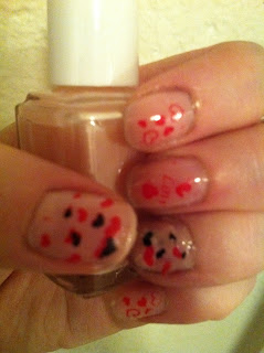 essie nailpolish konad stamps