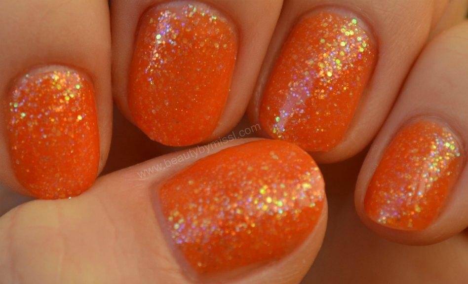 China Glaze Dreamsicle, swatches, manicure, notd,