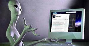 """Científicos afirman que los extraterrestres pueden estar usando una versión cósmica de Twitter para contactarse con nosotros. ultimasnoticias.com.ve Sin embargo, señalan que nos estaríamos perdiendo sus """"tweets"""". Se trataría de mensajes cortos, dirigidos mediante señales en todas las direcciones, según los expertos.""""Este enfoque indica que la comunicación es como un Twitter"""", dijo el físico californiano James Benford, presidente de Microondas Sciences Inc. Él y su hermano gemelo Gregory, un astrofísico de la Universidad de California, Irvine, se dedica a la Búsqueda de Inteligencia Extraterrestre (SETI). Hasta ahora, la estrategia adoptada ha consistido en escuchar repuntes inusuales o pitidos dirigidos a"""