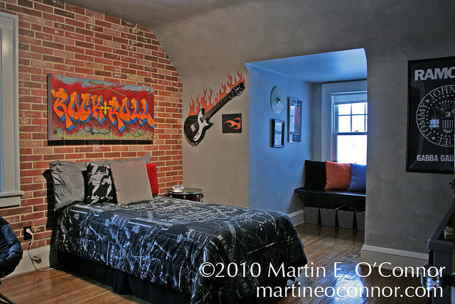 Rock N Roll Bedroom Decor The Interior Designs