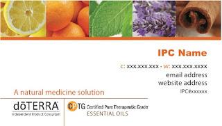 doTERRA IPC Business Cards