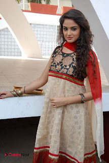 Asmita Sood Latest Pictures in Salwar Kameez at at Aa Aiduguru Movie Opening 0004
