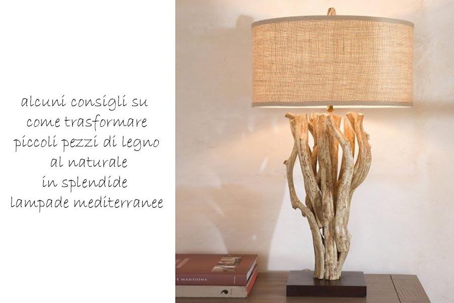 Lampade legno mare  My-Rome...