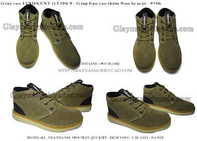 Giày nam đẹp Linhkent GT206. 9