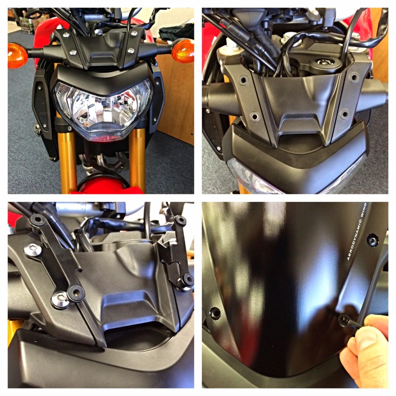 Yamaha Fz Remove Front Fairing