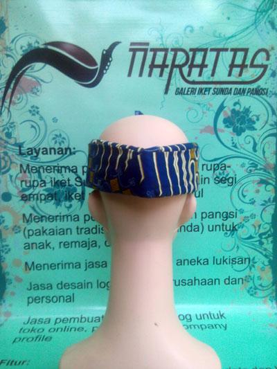 Ikat Kepala Batik Sunda