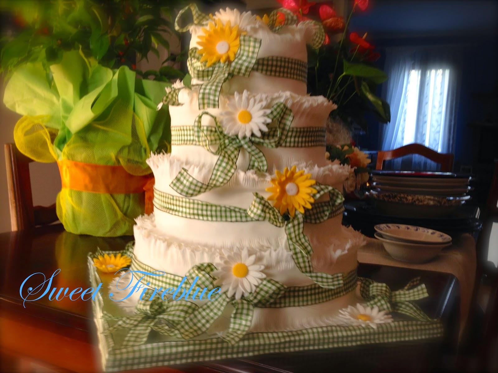 ☆☆una torta per un matrimonio?!? nooooo!!!! per una bellissima festa!!!☆☆