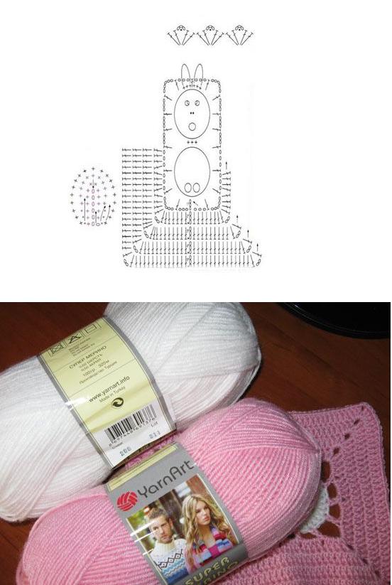 Quiero hacer una cobijita de bebé de conejitos - Imagui
