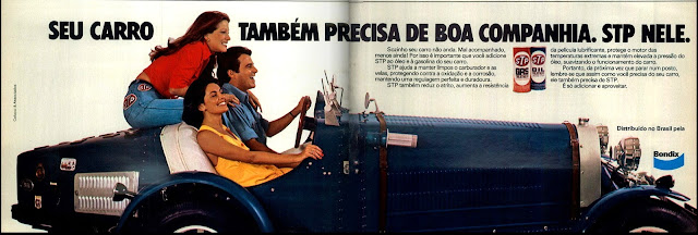 propaganda STP - 1976. brazilian advertising cars in the 70. os anos 70. história da década de 70; Brazil in the 70s; propaganda carros anos 70; Oswaldo Hernandez;