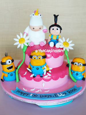 TheCakingGirl How to make Minion Figurines tutorial minion