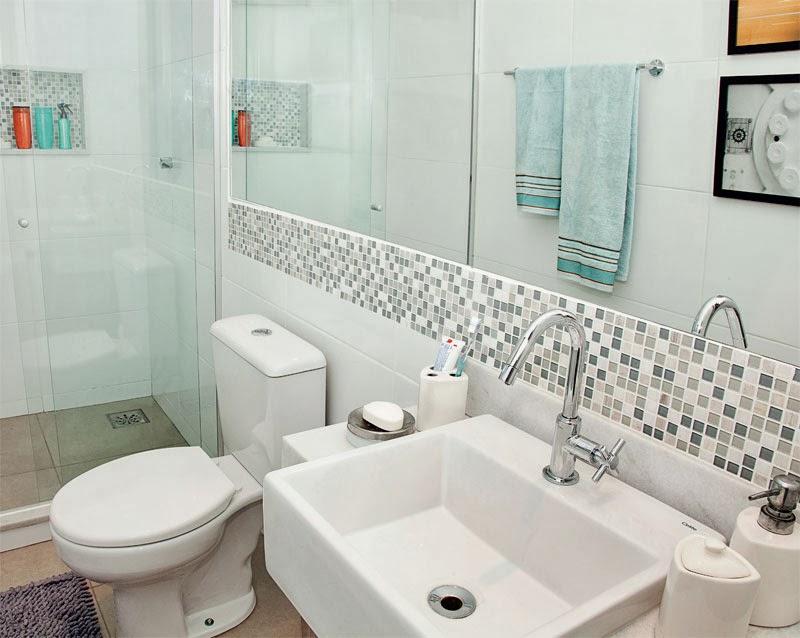 Decoração Banheiro Simples  X  Como Decorar Minha Casa e Meu Apartamento -> Banheiro Simples Grande