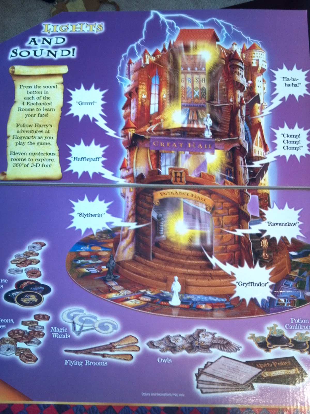 Adventures Through Hogwarts Board Game Spare Parts Harry Potter