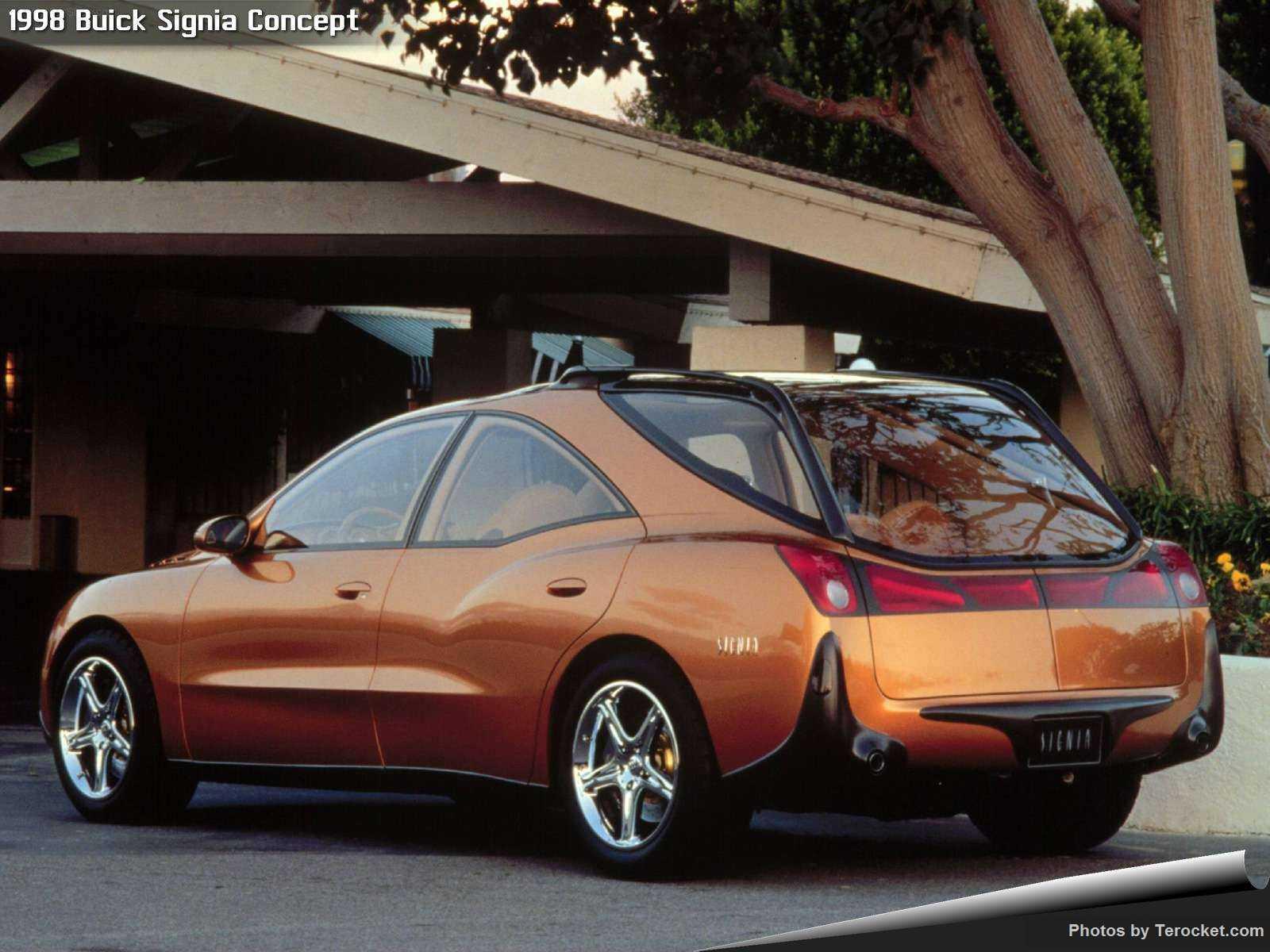 Hình ảnh xe ô tô Buick Signia Concept 1998 & nội ngoại thất