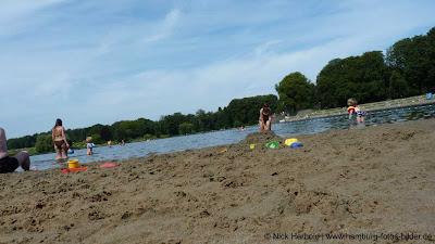 Baden in Hamburg mit Strand für Kinder