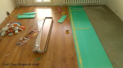 Remont salonu w bloku