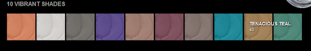 Maybelline Eye Color shades