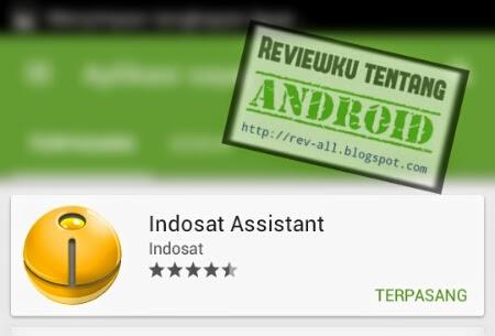 Ikon dan nama aplikasi INSTANT - aplikasi android Indosat Assistant (rev-all.blogspot.com)
