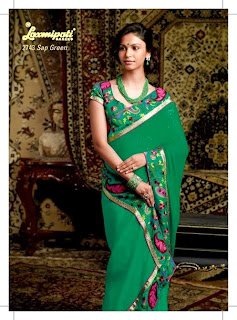 Designer Embroidered Sarees 2014-15