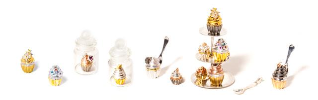 cupcakes, rings,