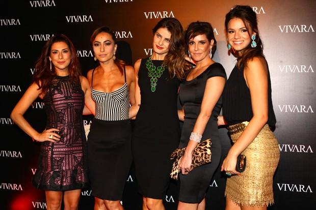 Festa de lançamento da grife de jóias Vivara em São Paulo reúne famosas
