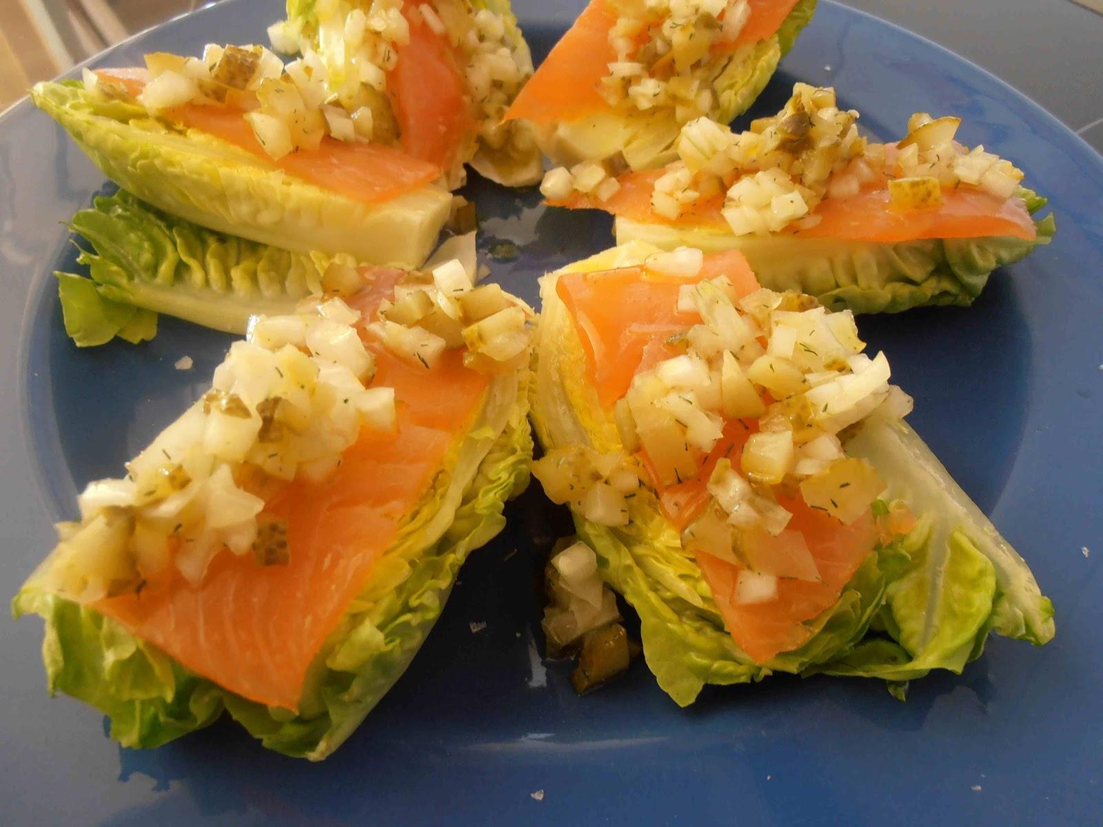 Cogollos con salm n patricietas recetas comida for Como se cocina el salmon