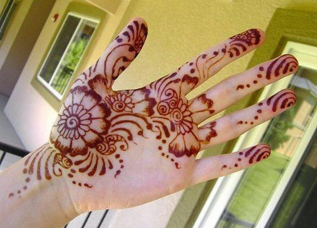 Mehndi For Children : Designs of mehndi for eid on foot simple dresses hands
