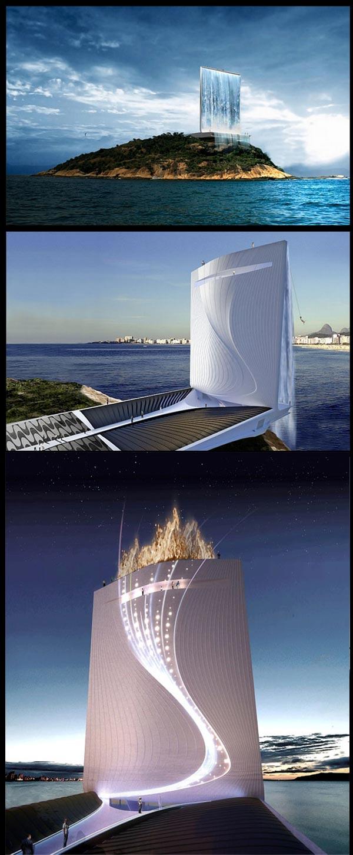 Menara Air Terjun Olimpik Brazil 2016