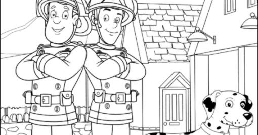 Fireman Sam Coloring Pages Free Coloring Pages