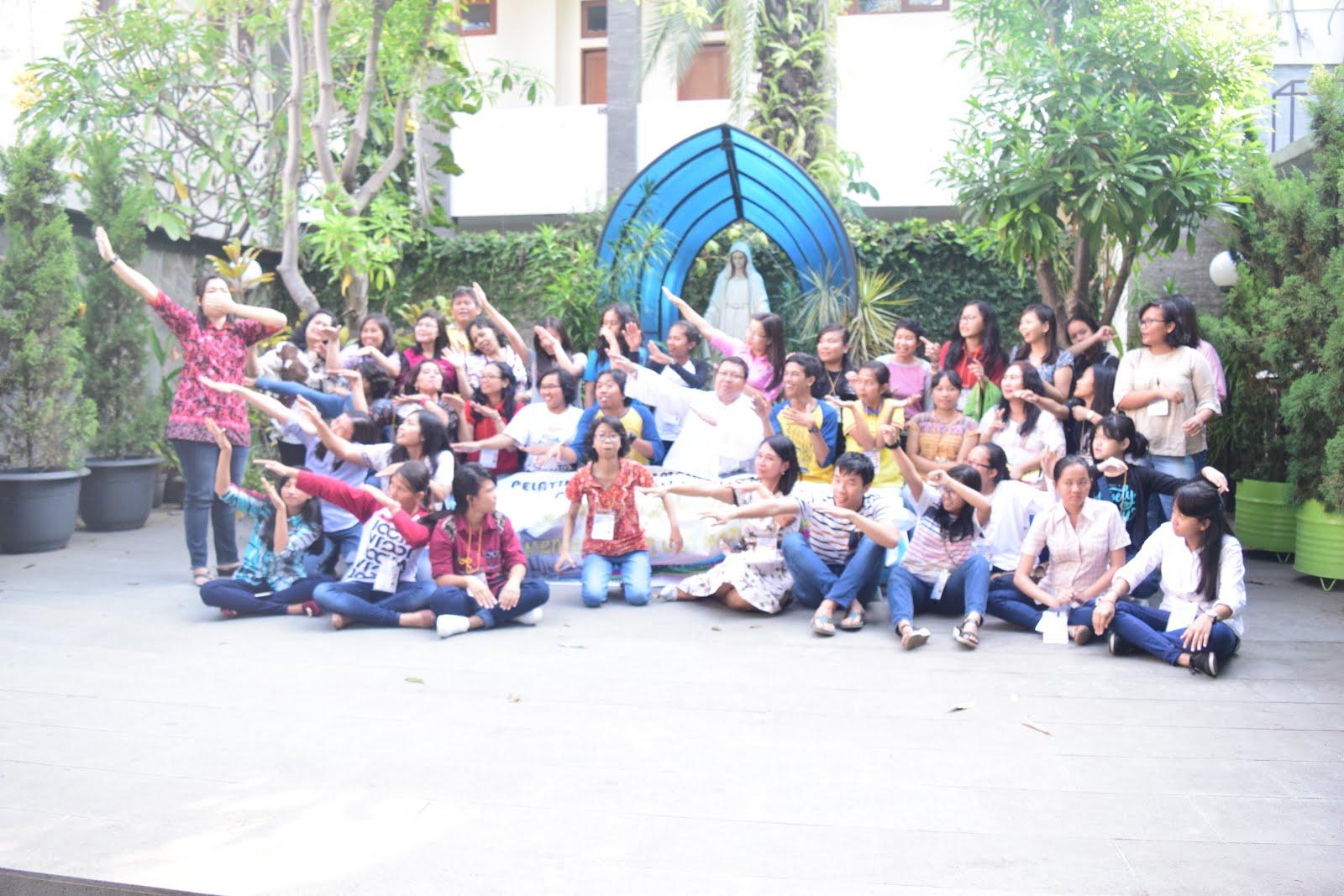 Bersama Para Pendamping BIAK Paroki St.Yosep Cirebon (13-14 Mei 2017)