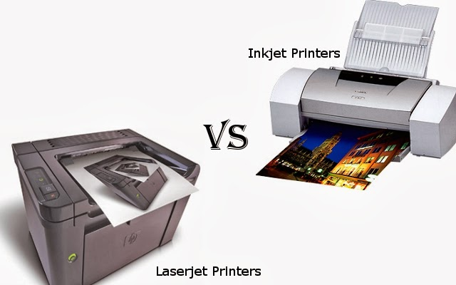 Laser printer or inkjet printer – Which one would you go for