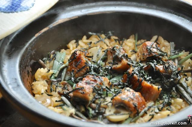 eel claypot rice