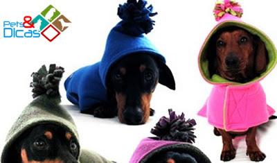 Moldes de roupas para cachorro para imprimir
