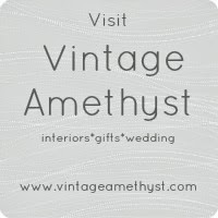 help yourself to a Vintage Amethyst button ...