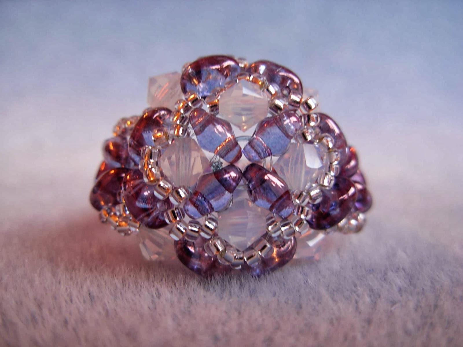 anelli perline
