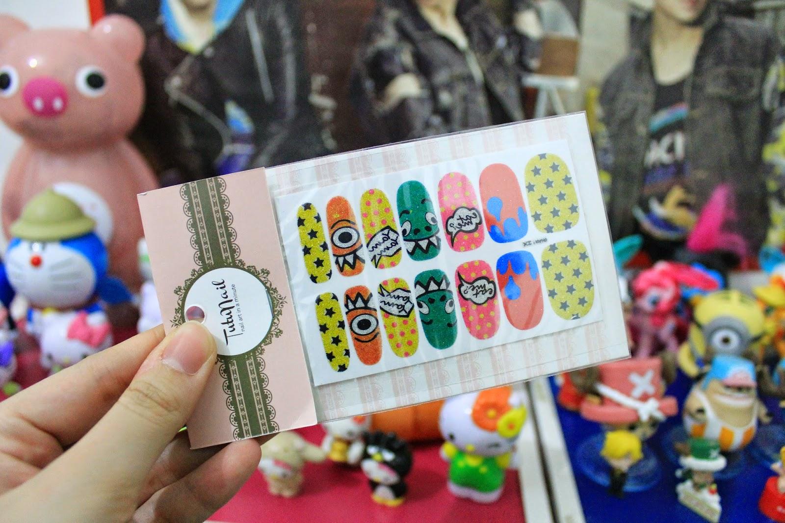 tutu-nail-sticker-review
