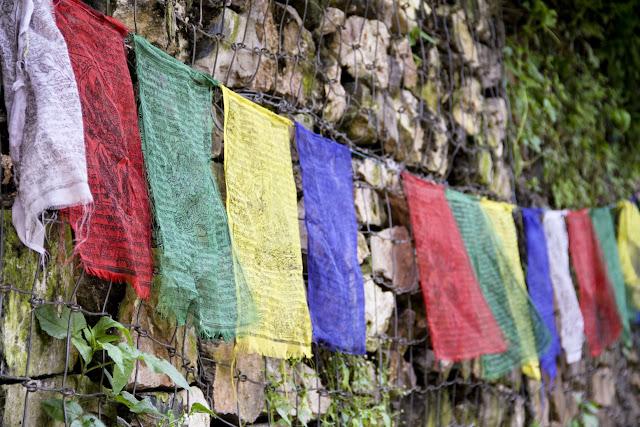 Nepali Prayer flags, traditional culture, buddhism, Nepal, Kathmandu