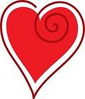 Spiral heart.