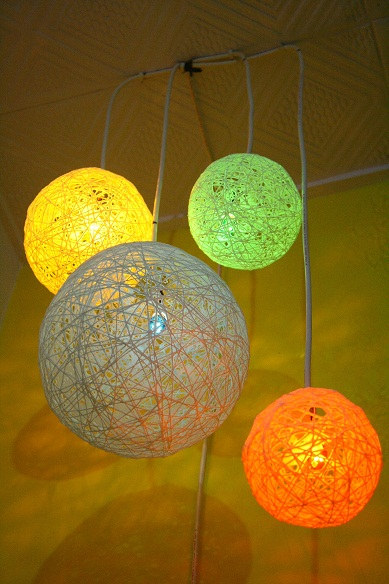 Ordinary Mutant Diy Thread Ball Lamp