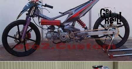 MODIFIKASI MEKANIK: Gambar Motor Drag: Koleksi Modifikasi Dragbike di ...